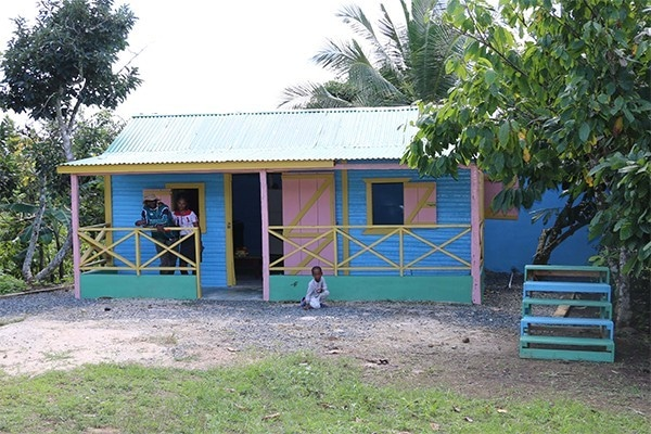 Typical Dominican house in Punta Cana
